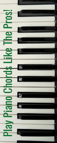 Play piano chords like the pros!